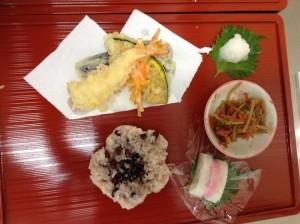 敬老の日お祝い膳 (1)