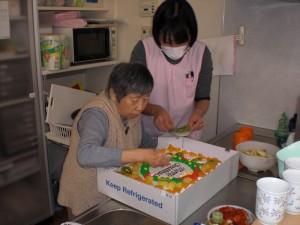 【社会福祉法人彦成福祉会】クリスマス会 (5)